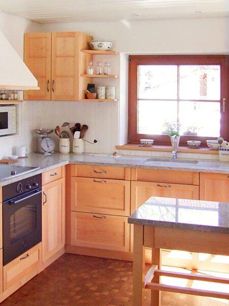 Küche –Erle massiv